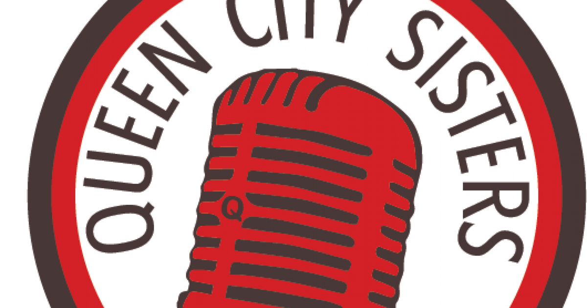 Microphone clipart 50's music. Queen city sisters cincymusic