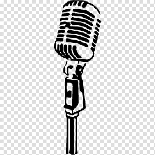 Drawing mic transparent . Microphone clipart condenser microphone