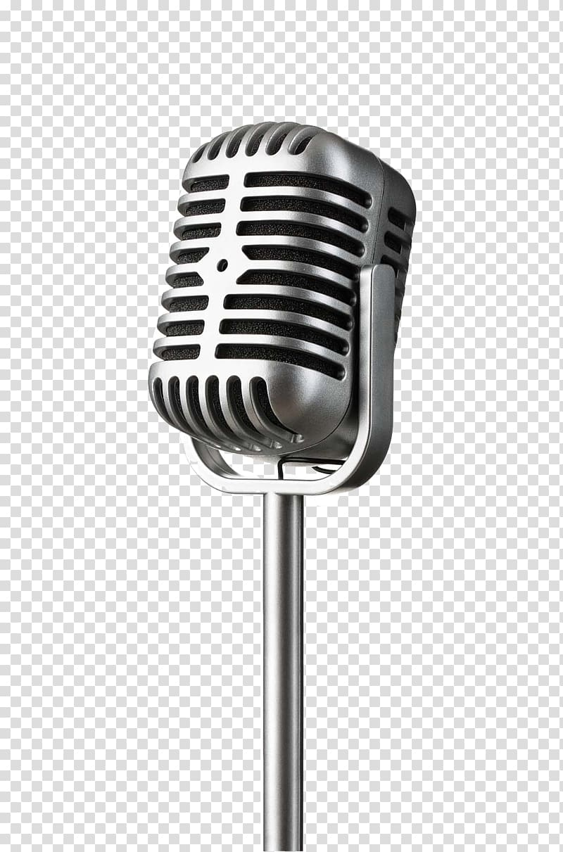 Microphone clipart condenser microphone. Gray