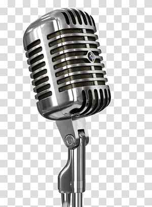 Transparent background png . Microphone clipart condenser microphone