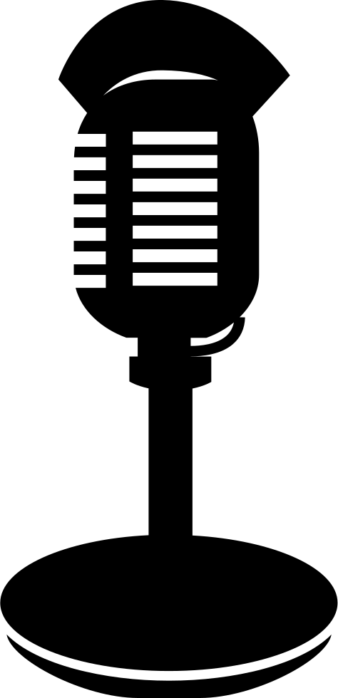 Microphone clipart condenser microphone. With stand and lips