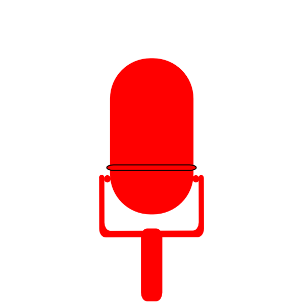 Clip at clker com. Microphone clipart design art