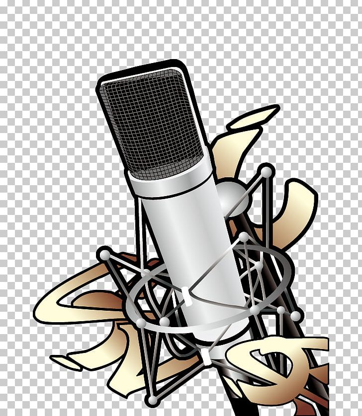Microphone clipart design art. Music motif graphic png