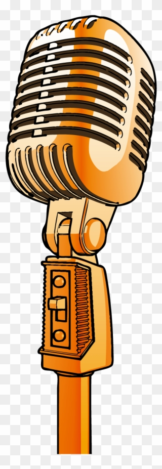 Free png clip art. Microphone clipart lounge singer