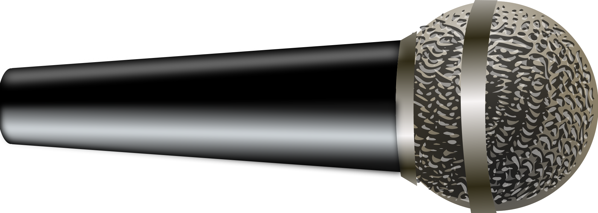 Microphone clipart media. File svg wikimedia commons