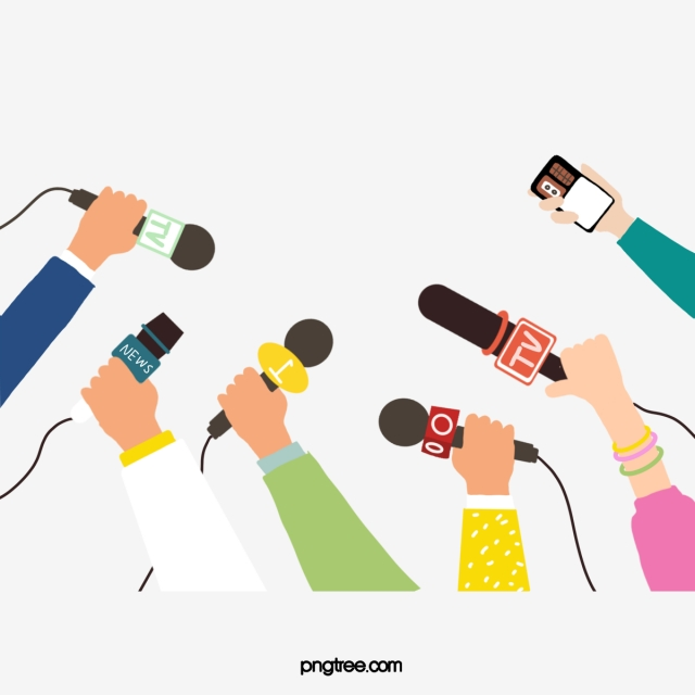 Microphone clipart media. Interview element recorder png