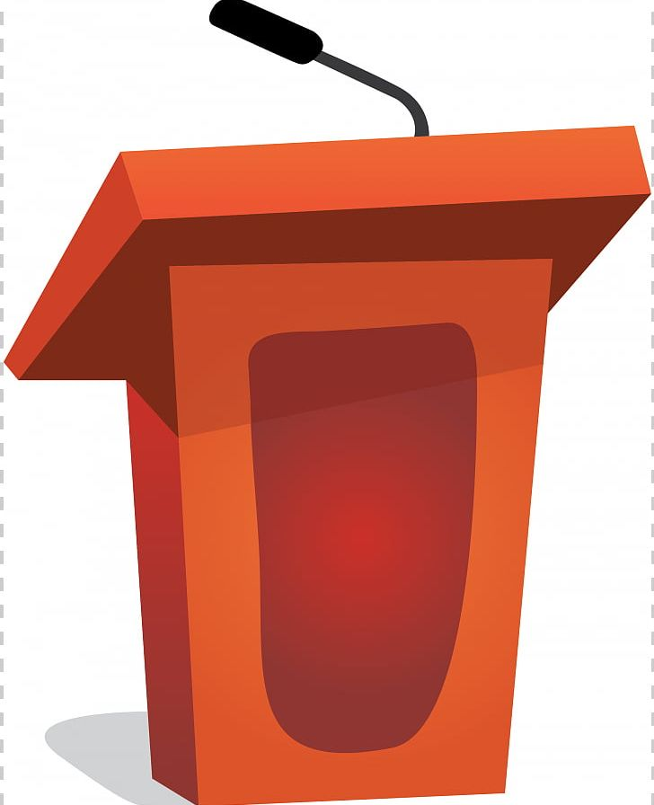 Microphone public speaking png. Podium clipart real