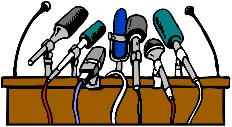 My speech by kulevome. Microphone clipart poetry
