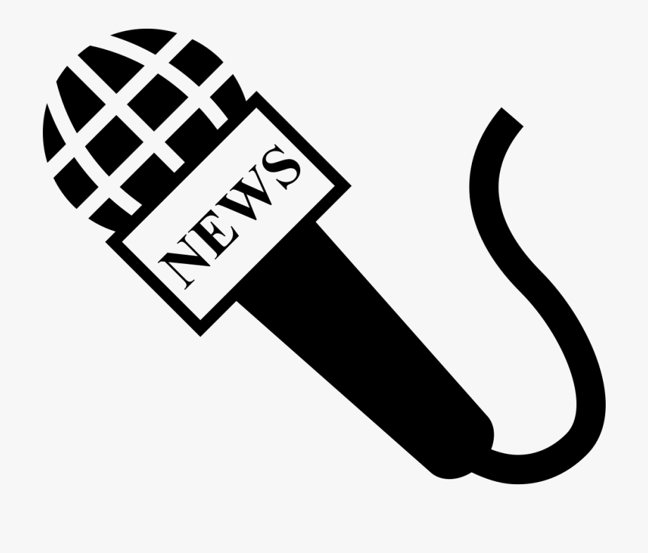 Svg png icon free. Microphone clipart reporter microphone