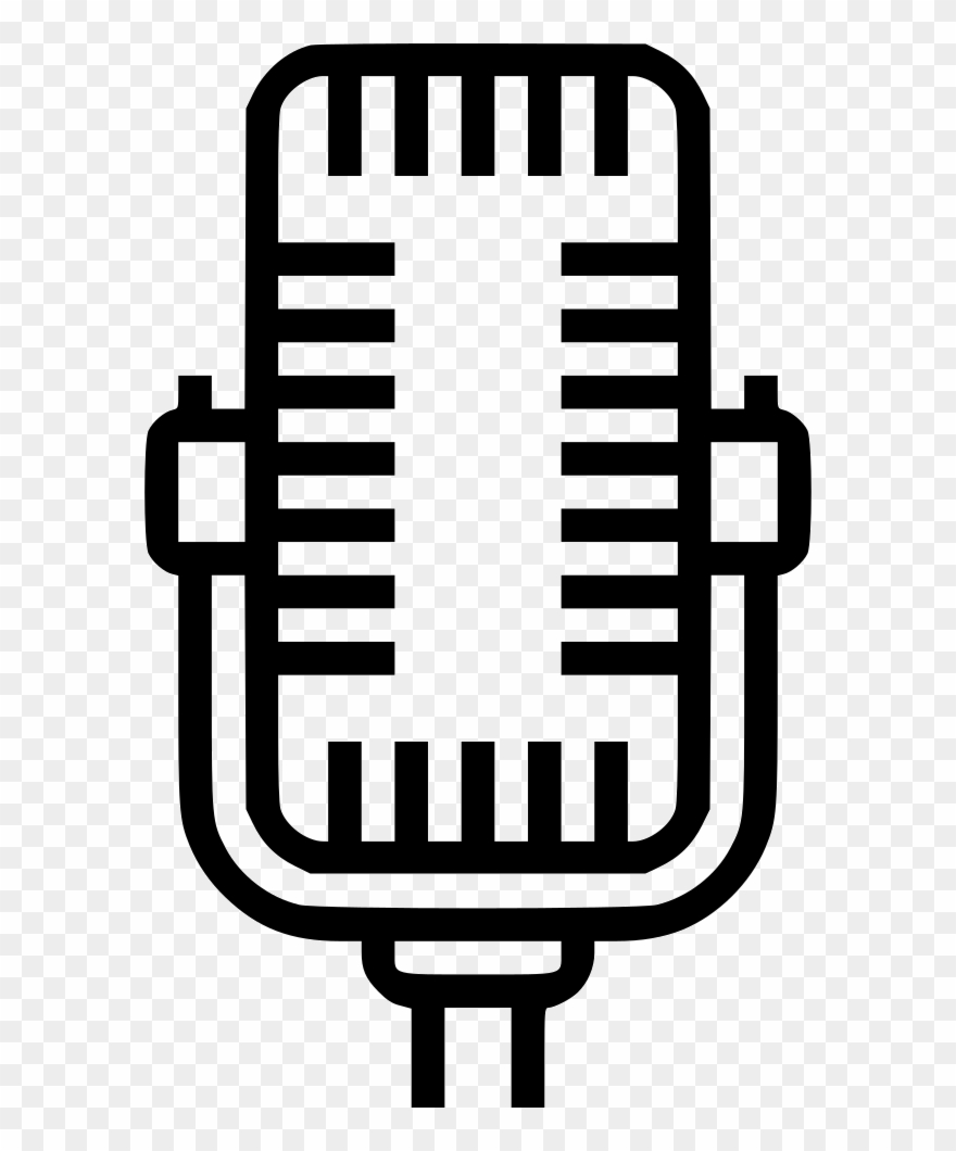 Microphone clipart studio microphone. Comments png