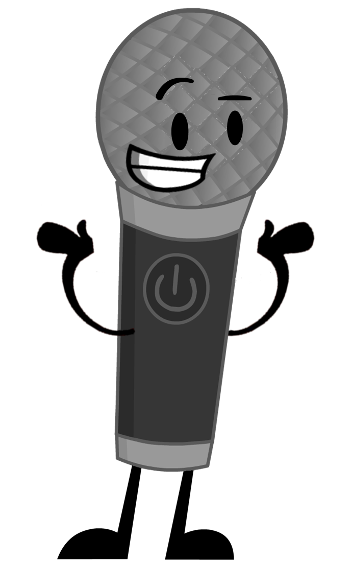 Microphone clipart talk show. Image pose ii png