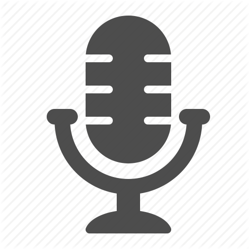 Communication by ree design. Microphone vector png