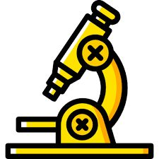 Microscope clipart. Cartoon picture royalty free
