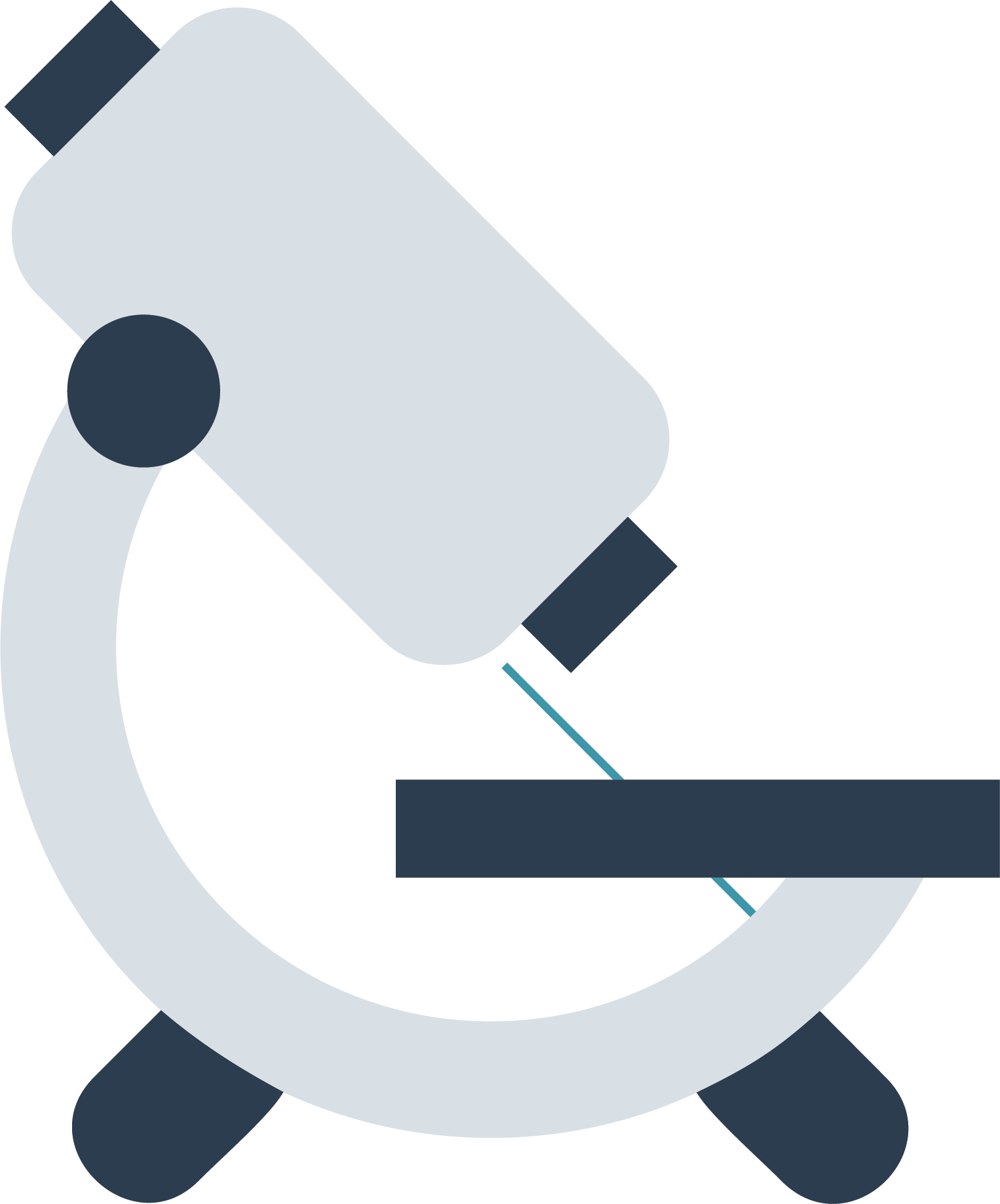 Microscope clipart biomed. Cartoon icon transprent png