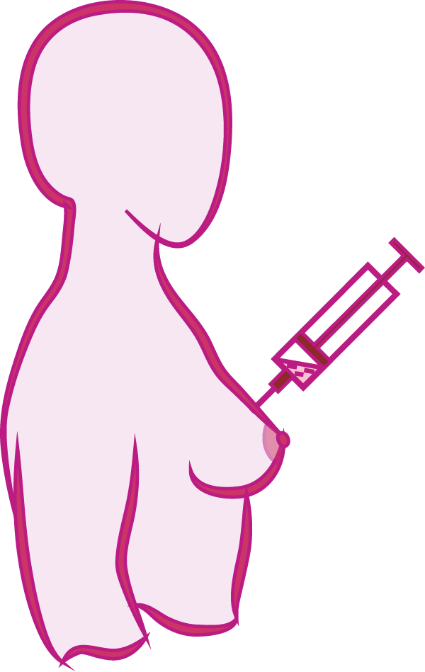 The triple assessment southwest. Needle clipart biopsy