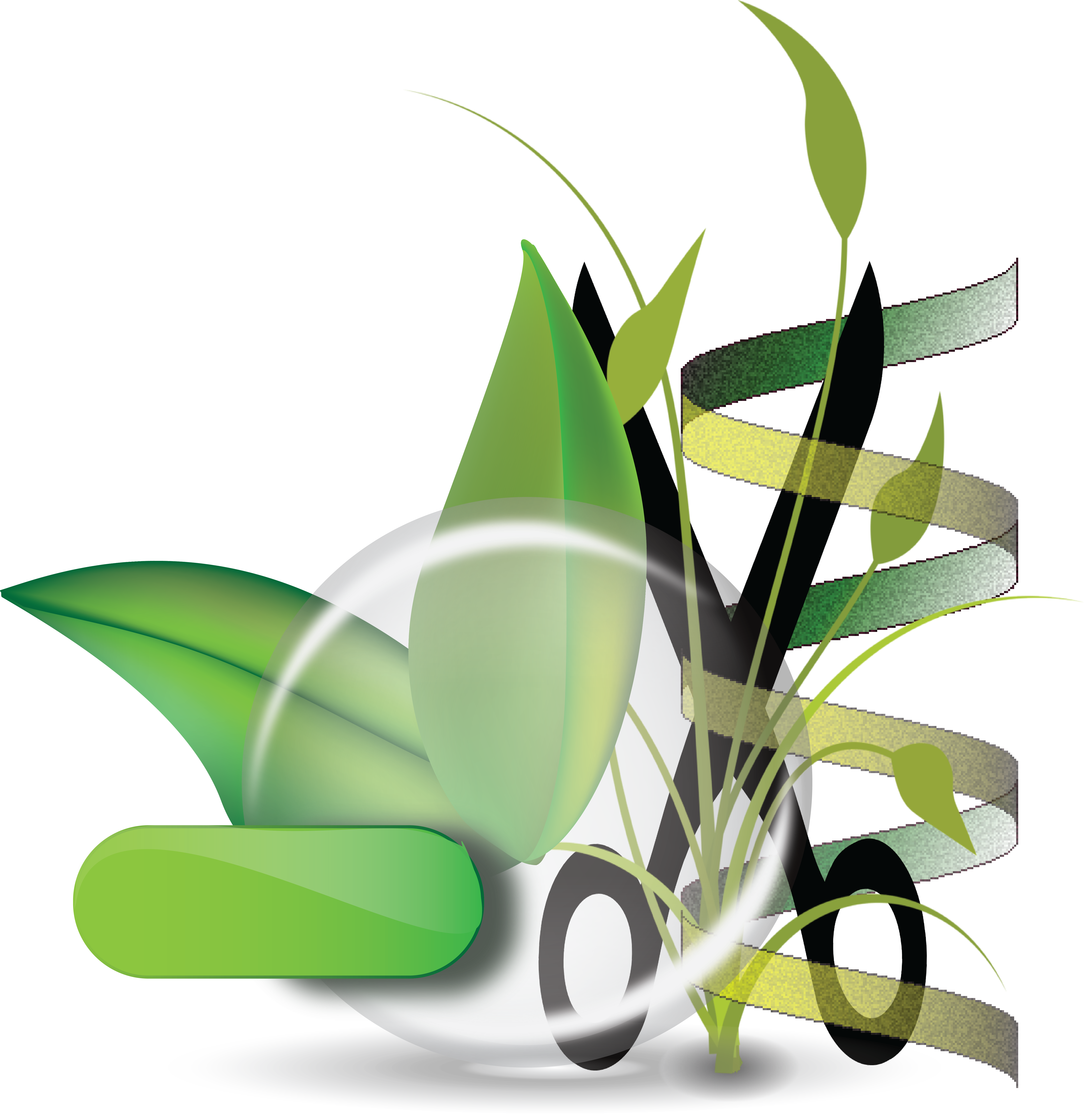 Our research the moschou. Pathway clipart green design