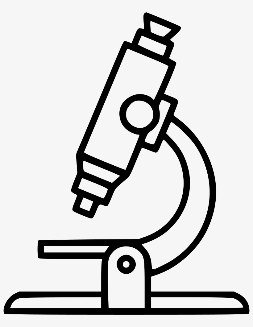 Microscope clipart draw. Parts of a drawing