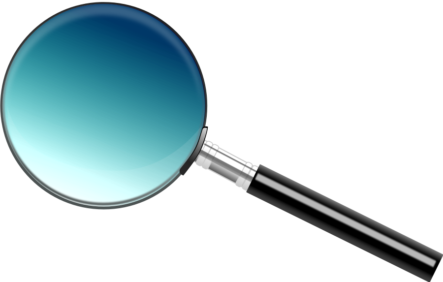 collection of free. Person clipart magnifying glass