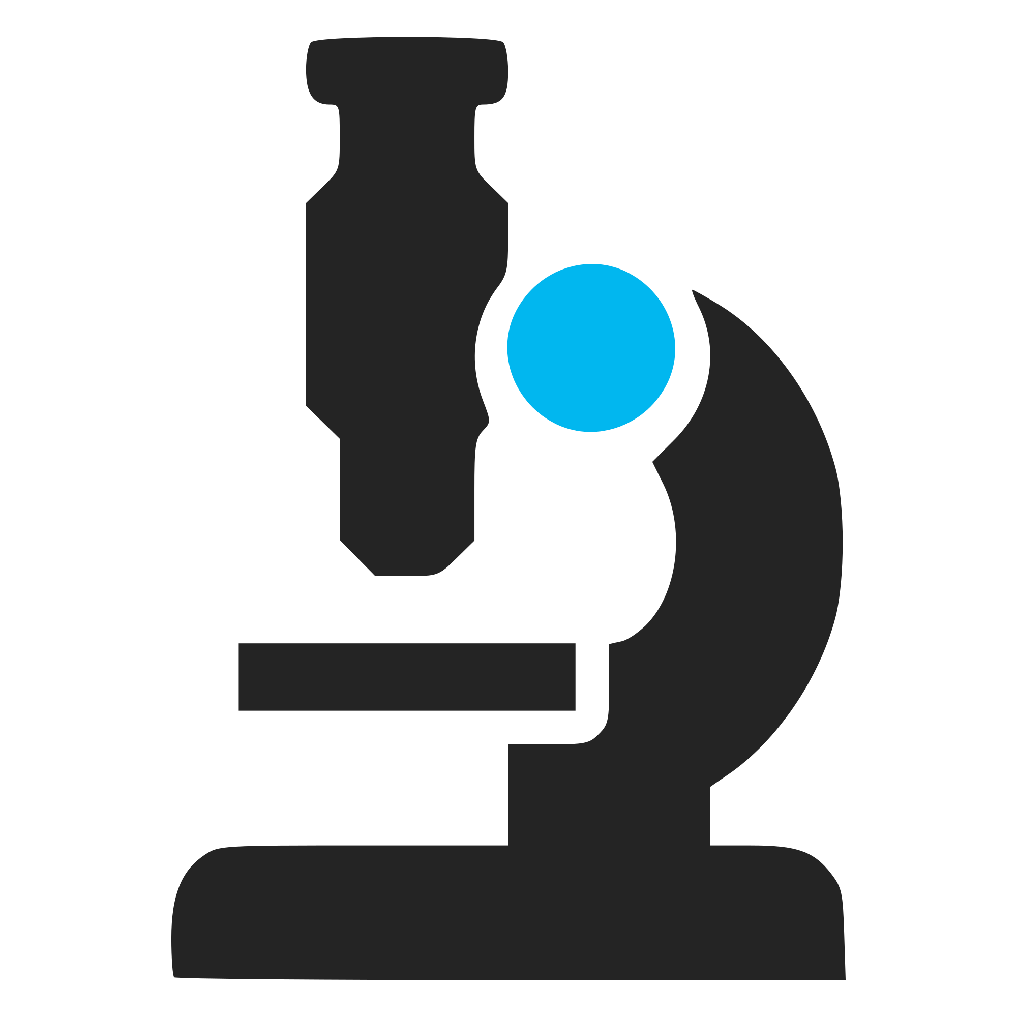 Microscope lab instrument