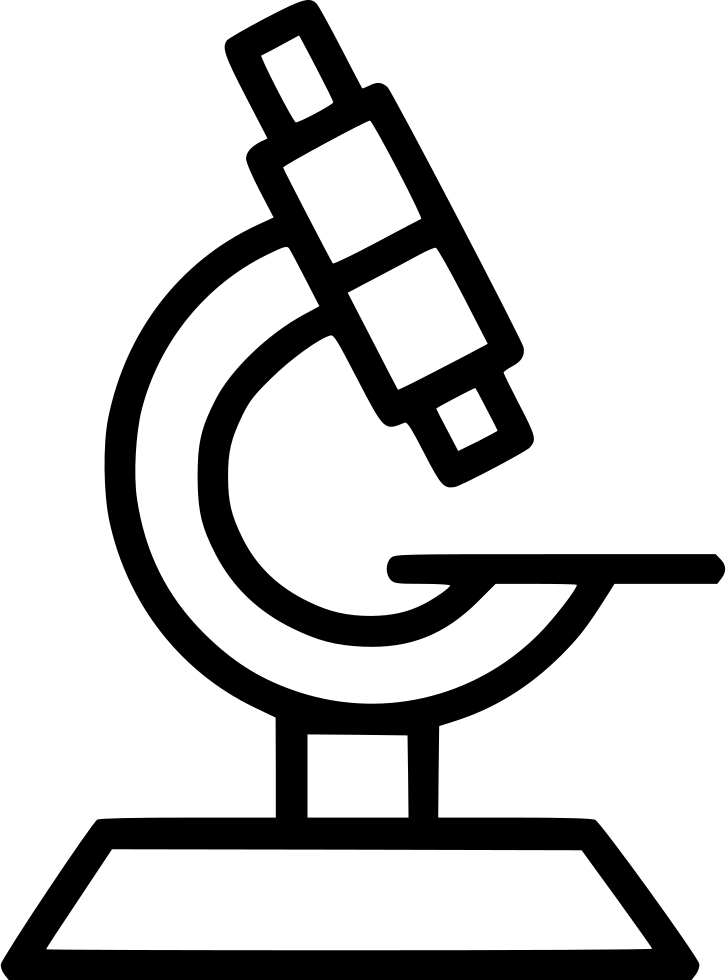 Microscope svg png icon. Movement clipart effervescent