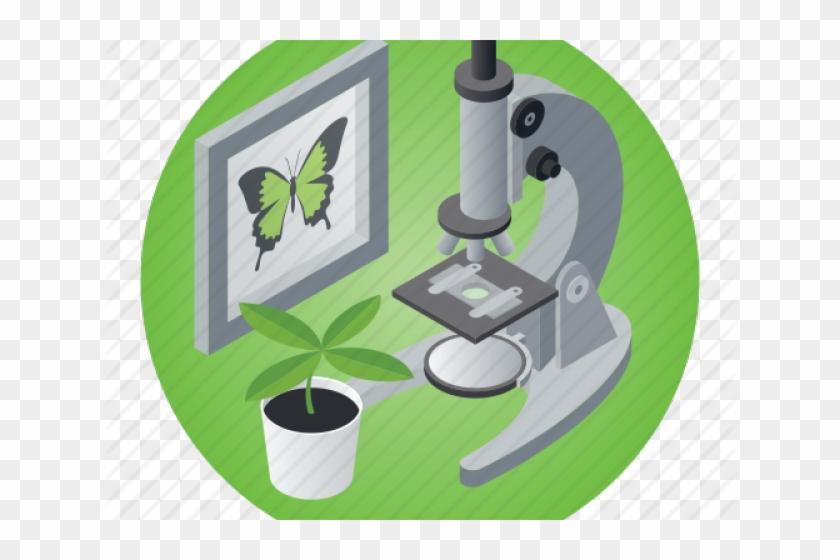 Microscope clipart plant science. Icon hd