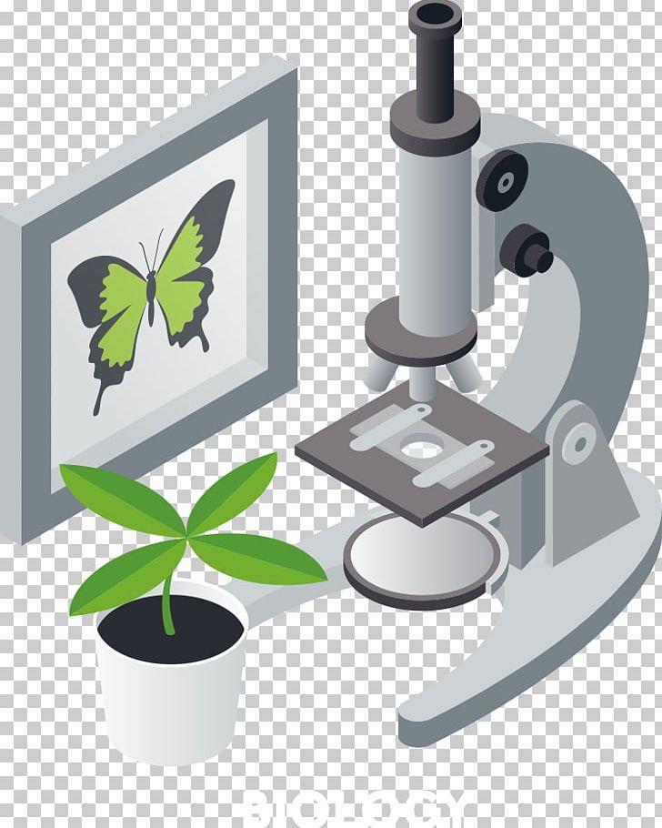 Illustration png adobe illustrator. Microscope clipart plant science