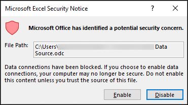 Microsoft clipart concern. Block or unblock external