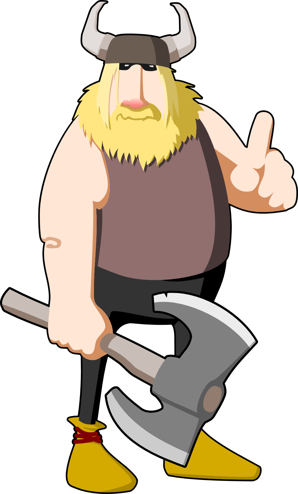 Free viking cliparts hanslodge. Warrior clipart anglo saxon
