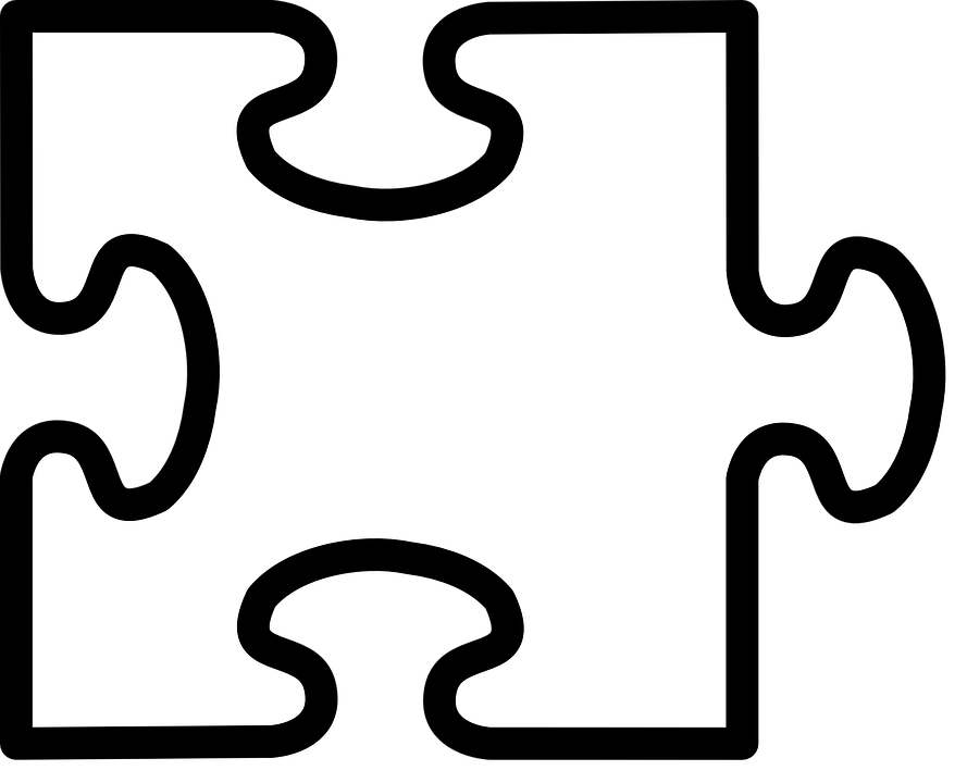 collection of microsoft. Puzzle clipart single