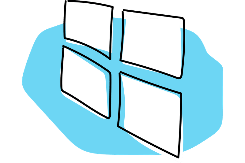 Windows tips and how. Win clipart blue window