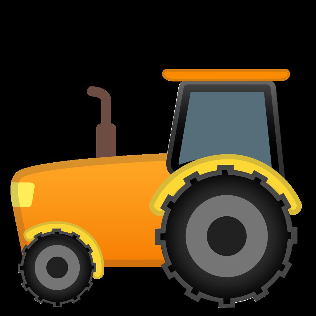 Purple clipart tractor. Icon noto emoji travel