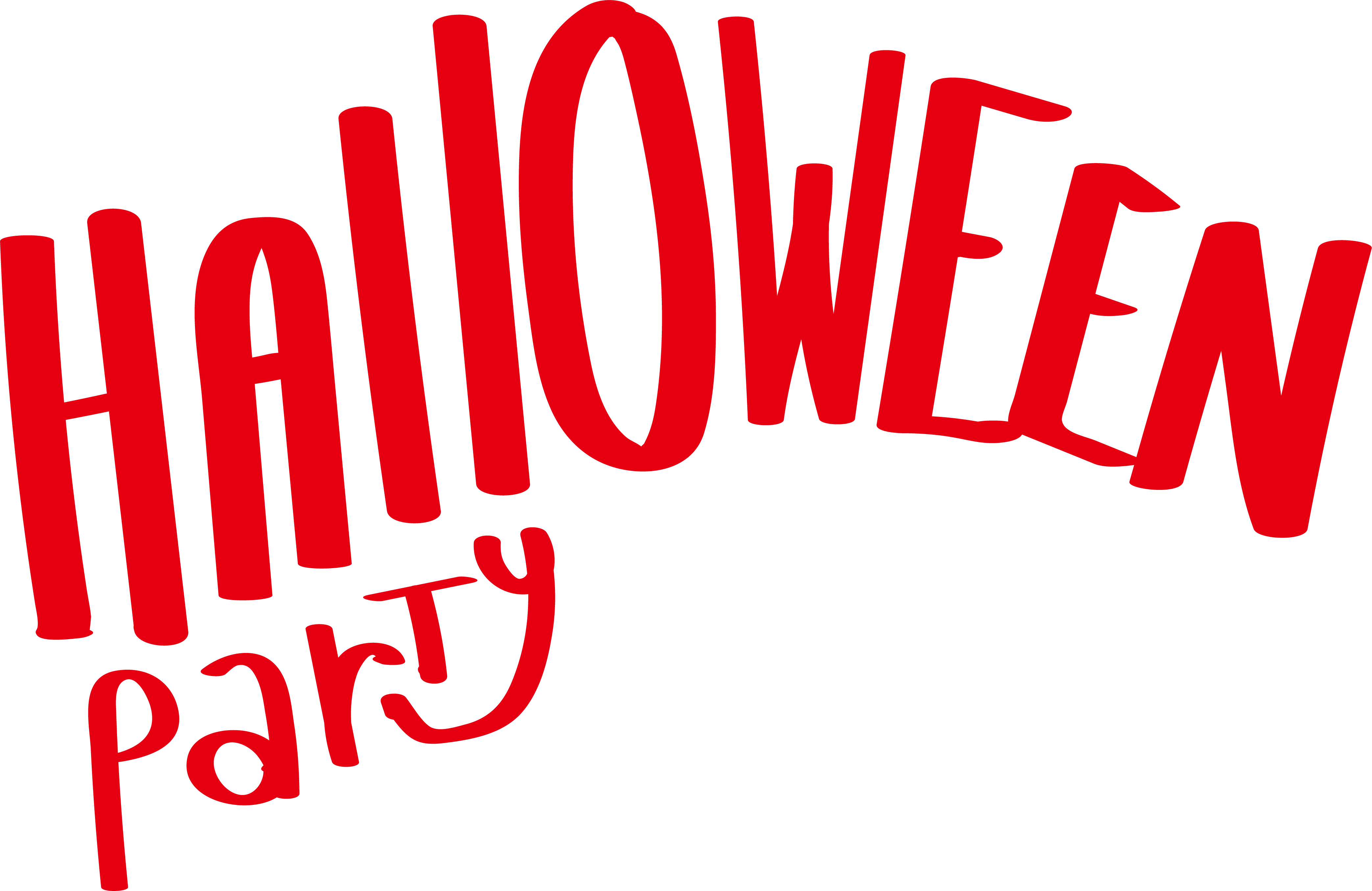 Words clipart word microsoft. Halloween clip art red