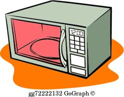 Microwave clipart. Clip art royalty free