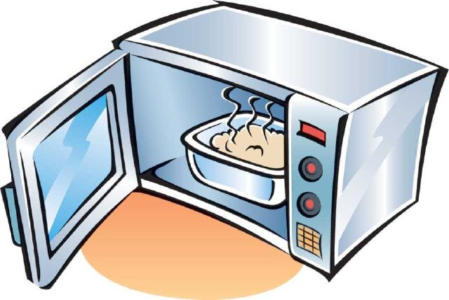 Microwave clipart. The top best blogs