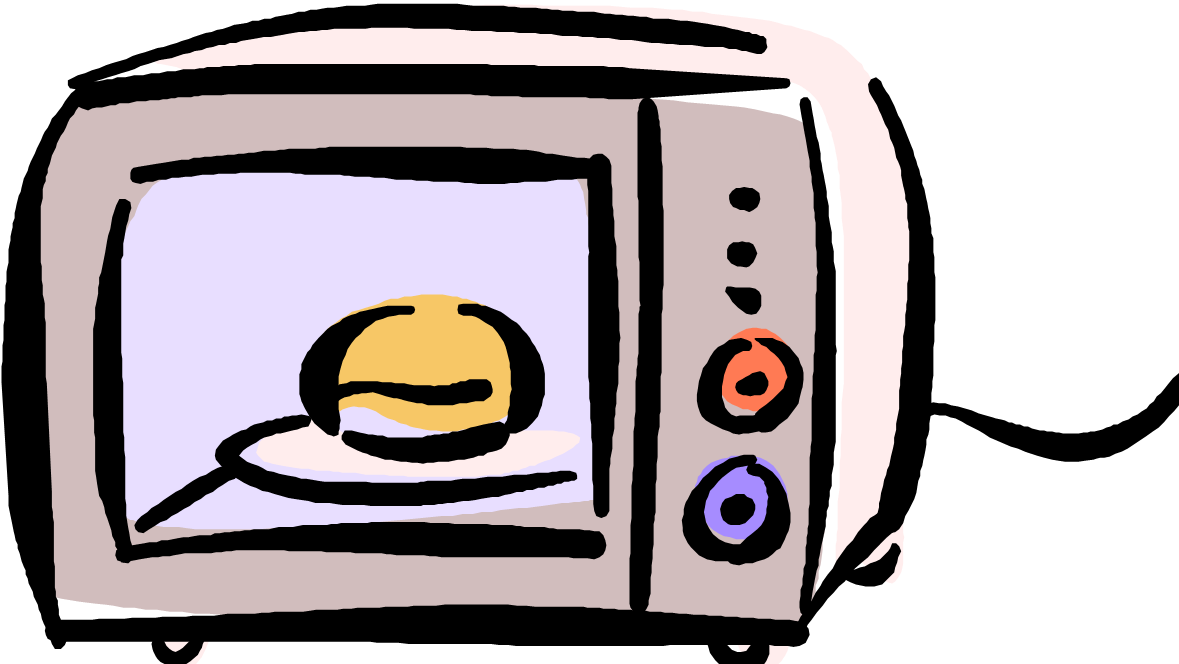 collection of oven. Microwave clipart animated