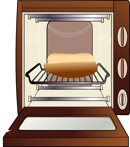 Microwave hot oven