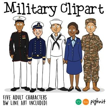 Military clipart. Army navy marines air