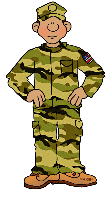 Clip art by phillip. Military clipart