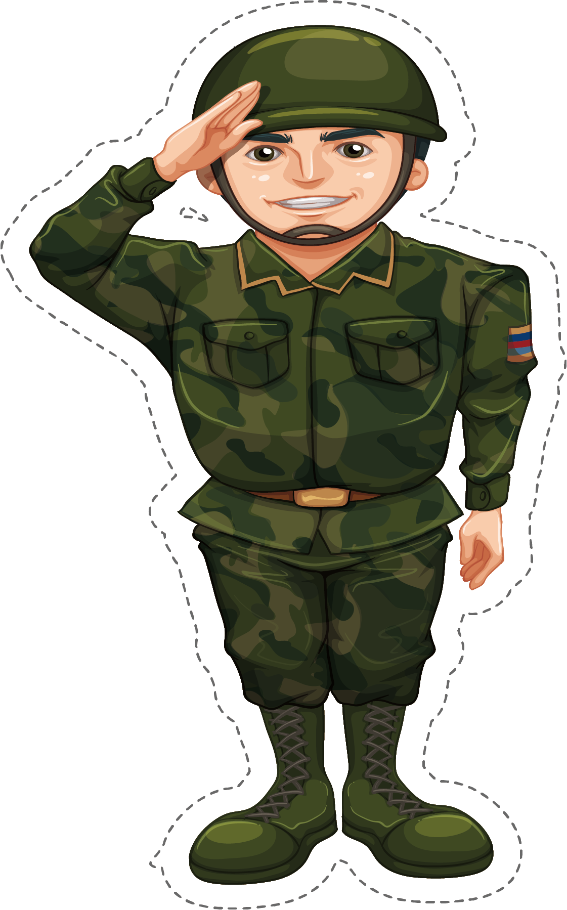 Soldiers clipart army officer. Soldier salute stock photography