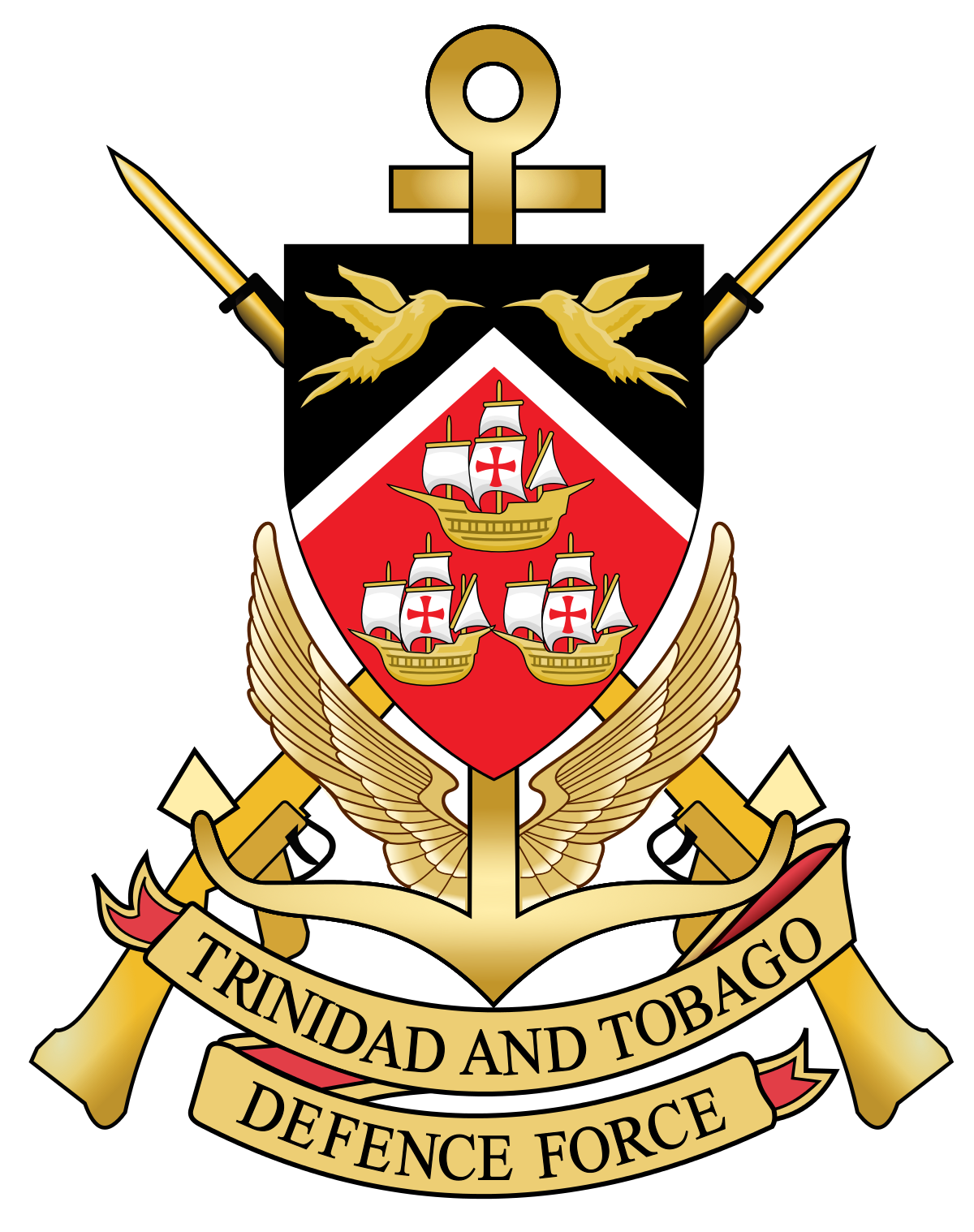 Trinidad and tobago defence. Pilot clipart security guard logo