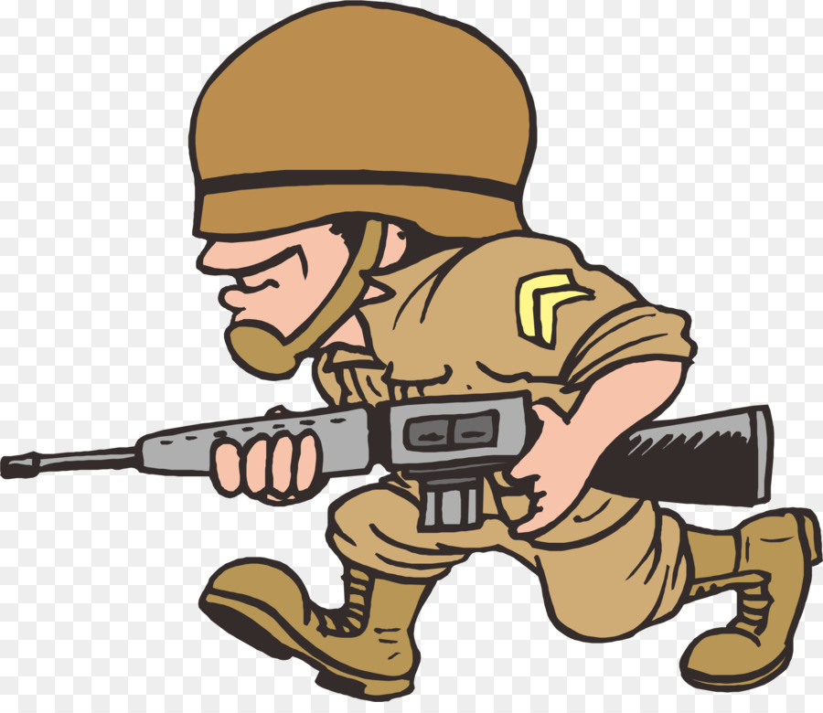 Cartoon . Military clipart army fighting