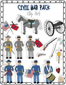 Civil War Clipart Flags - Civil War Clipart , Transparent Cartoon - Jing.fm