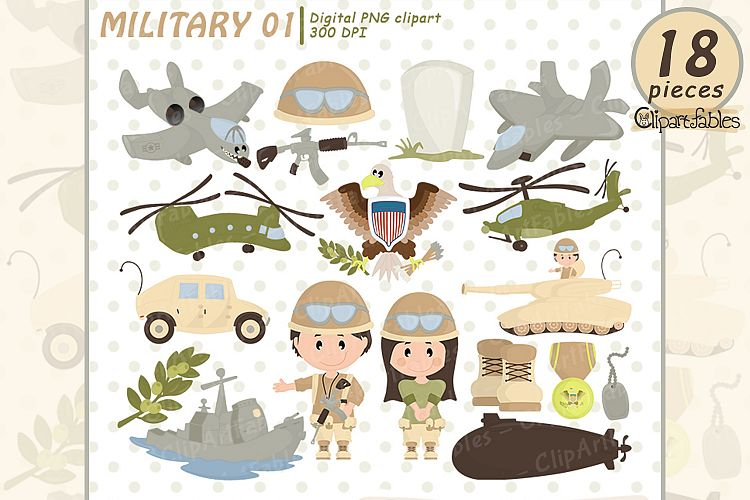 Military clipart cute. Memorial day army clip