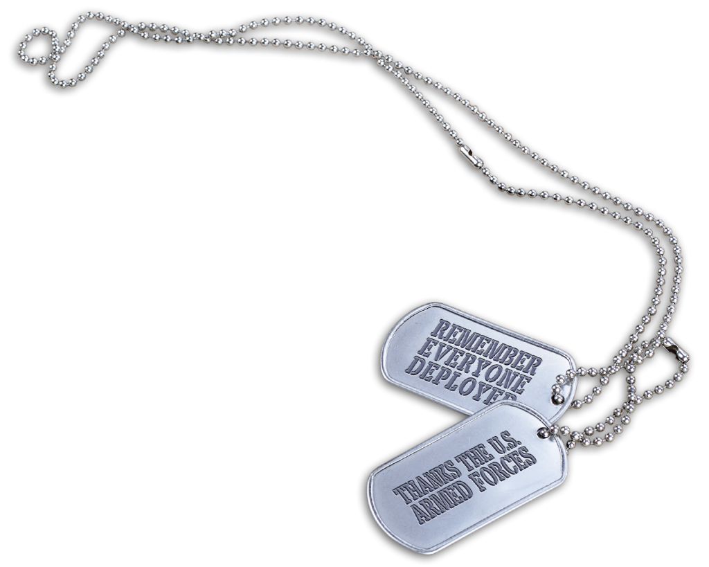 Red remember everyone deployed. Military clipart dog tag