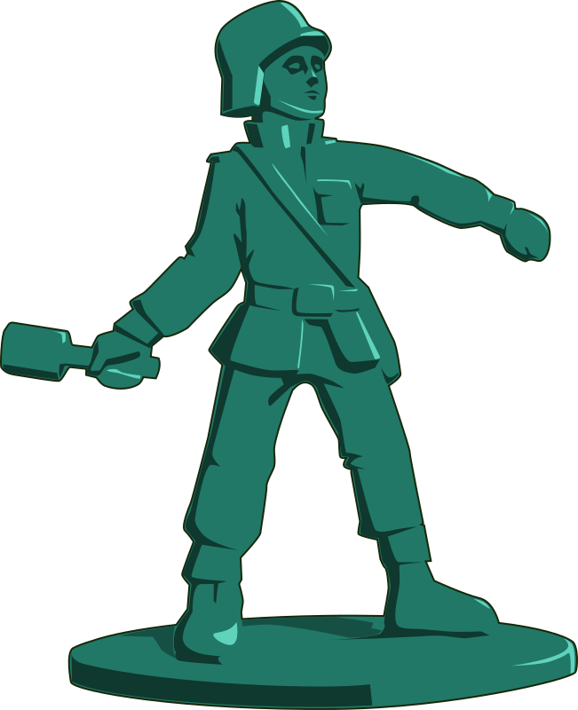 Toy soldier medium image. Soldiers clipart military