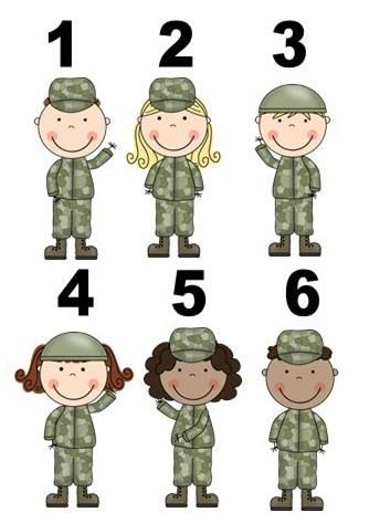 Military clipart military child. Army party games and