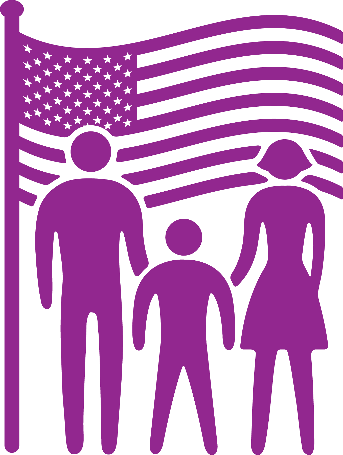 Military clipart military family. Initiative ymca deployment can