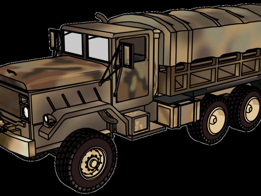 Military clipart military truck. Car cartoon jeep transparent