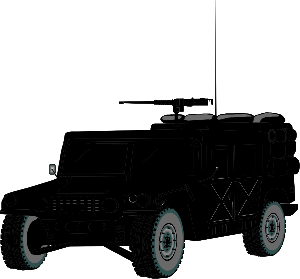 Military clipart military truck. Hummer clip art at