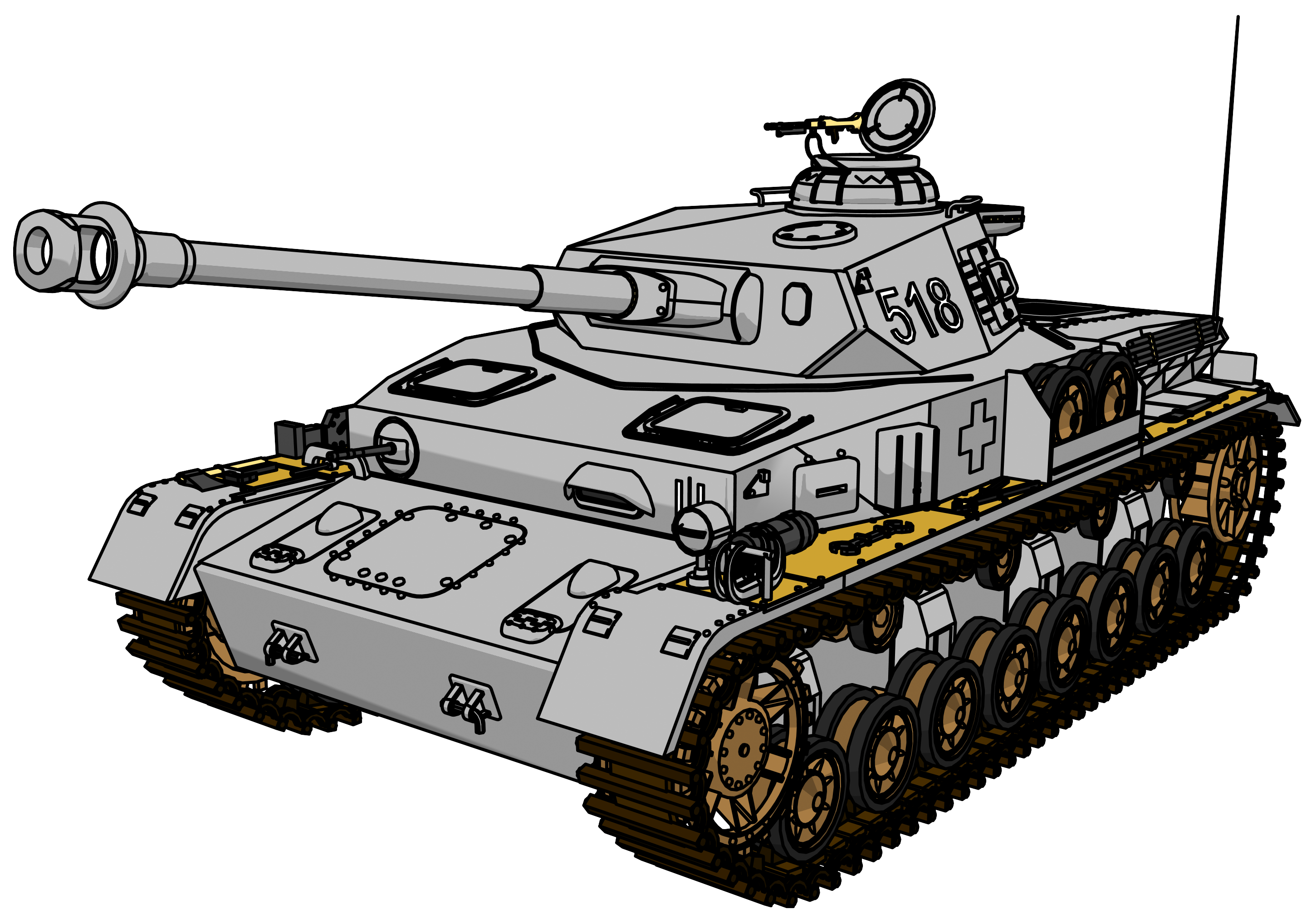 Military clipart simple tank.  collection of high